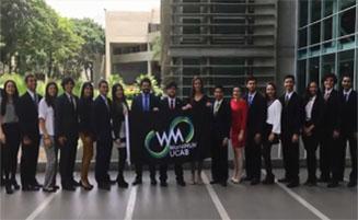 Delegación WorldMUN UCAB quiere representarnos en Madrid